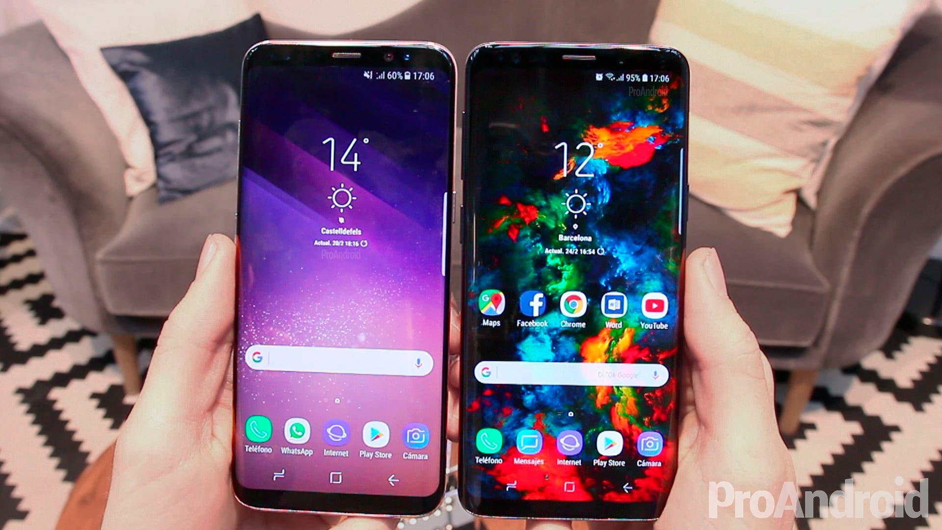 Samsung Galaxy S9 vs Samsung Galaxy S8: ¿merece la pena el cambio?