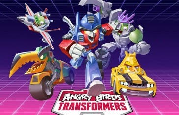 Angry Birds Transformers disponible en Google Play el 30 de octubre