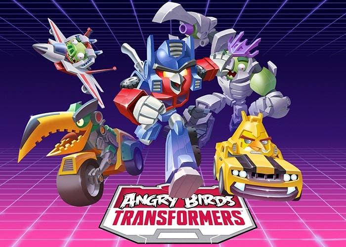 Imagen promocional de Angry Birds Transformers