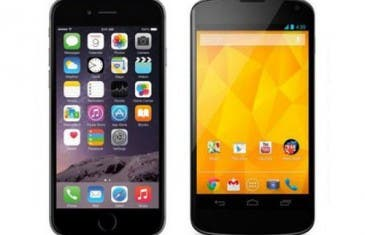 Nexus 4 vs. iPhone 6, tecnología de 2012 en el 2014