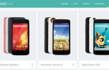 Google pone en marcha el proyecto Android One con 3 terminales alrededor de los 100$ en India