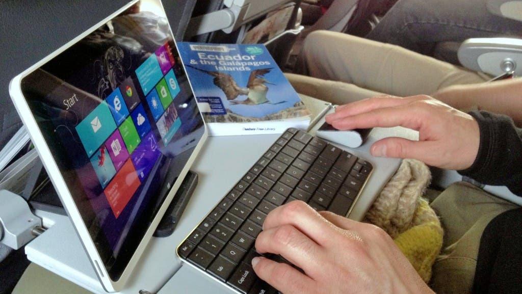 Tablet-en-vuelo