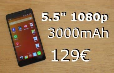 Análisis del Pomp C6 – 5.5″ FullHD, 32gb, 13mpx… por 129€