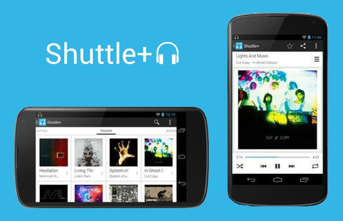 Shuttle, el mejor reproductor musical para Android