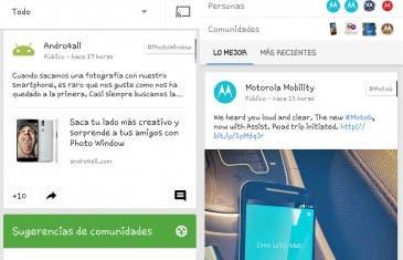 Google+ se actualiza con mejoras al estilo Material Design
