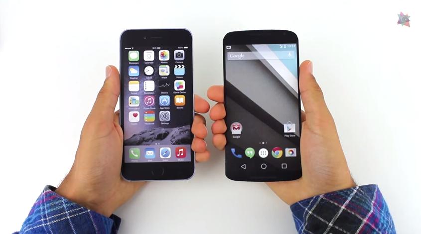 Maqueta de Nexus 6 comparada con otros gamas altas [vídeo]