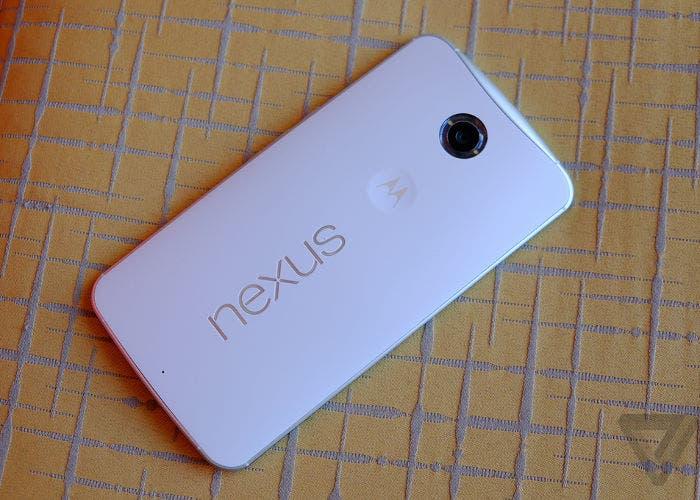 Nexus 6, lector de huellas