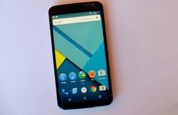 Google Nexus 6 ya se muestra en Google Play España