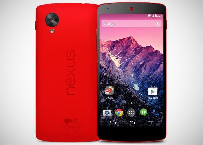 Google Nexus 5 rojo