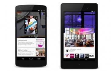 Material Design llega a Google Play Kiosco para Android