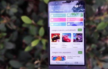 Aquí tienes Google Play Store con diseño Material Design