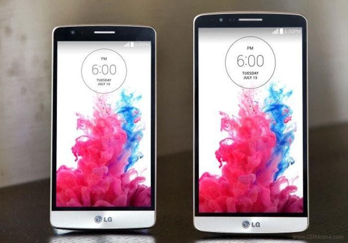 Comparación del LG G3 con LG G3 S