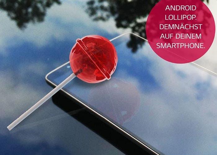 Confirmación de Lollipop en LG G2