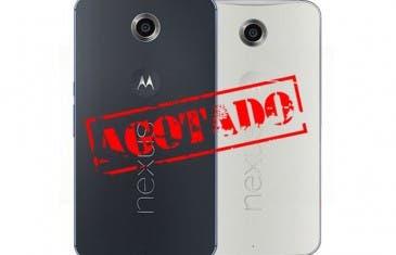 El Google Nexus 6 se agota en 30 minutos