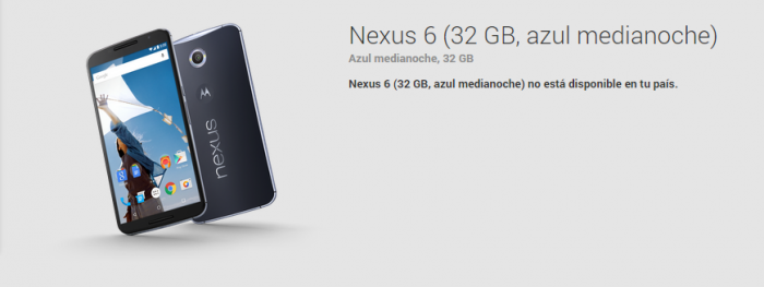 Nexus6 Play Store