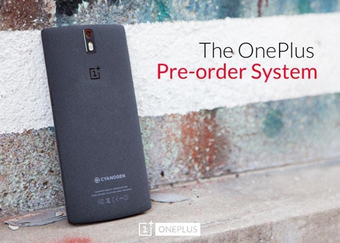 Nuevas pre-reservas OnePlus One