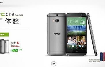 HTC One M8 Eye se deja ver en China con cámara de 13 megapíxeles