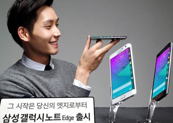 Samsung Galaxy Note Edge en Corea
