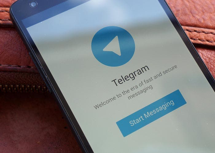 Captura de pantalla de Telegram