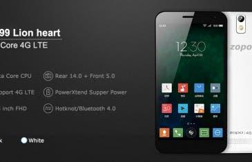 Zopo ZP999 incluirá cristal de zafiro en la pantalla por 330 euros