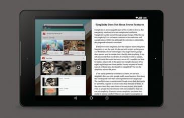 Google estaría experimentando con la multiventana en tablets