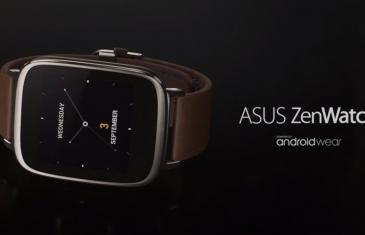 ASUS ZenWatch saldrá a la venta en noviembre pero en unidades limitadas