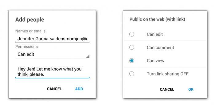 Compartir archivos mediante el nuevo Google Drive
