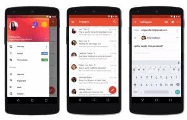 Disfruta de Gmail 5.0 Material Design si eres usuario root