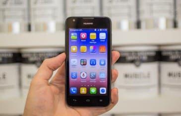 Huawei Ascend Y550, uno de los 4G más baratos