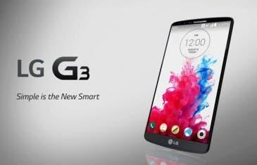 50 euros de descuento al comprar el LG G3 hasta el 31 de octubre