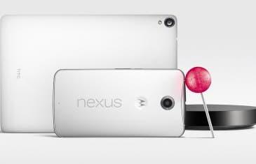 Android Lollipop, Google Nexus 6 y Google Nexus 9 ya son oficiales.