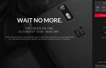El 27 de octubre podrás comprar el OnePlus One sin invitación.