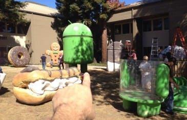Android 5.0 se prepara para hacer compañía a las estatuas del GooglePlex