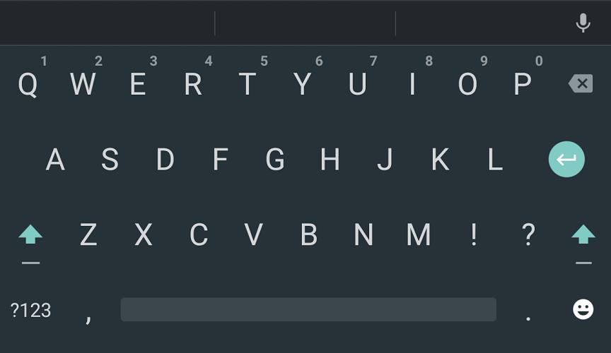teclado google 4.0