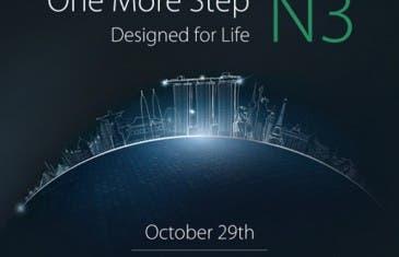 El Oppo N3 será puesto en escena el día 29 de Octubre