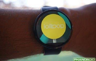 Primeras novedades de Android Wear 5.0 Lollipop