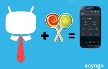 Android 5.0 Lollipop en Samsung Galaxy S4 gracias a CM12