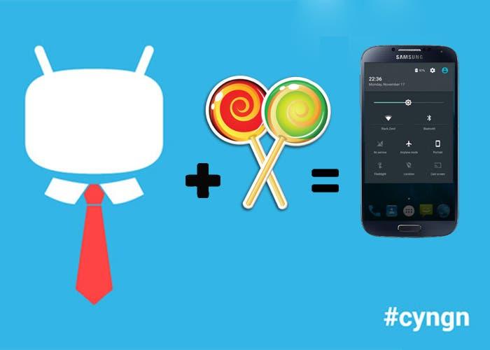 CyanogenMod Lollipop Galaxy S4