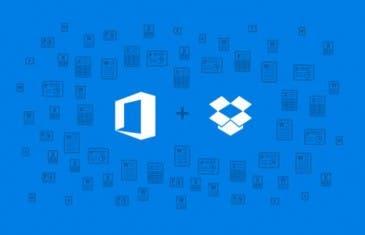 Dropbox y  Microsoft se asocian para la integración de Office
