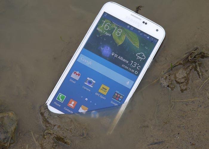 Fotografía del Galaxy S5