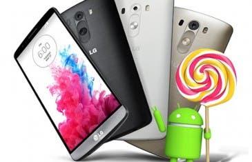 Android 5.0 Lollipop llega al LG G3 en Corea