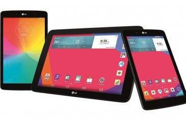 La nueva serie LG G Pad llega a España en 7, 8 y 10.1 pulgadas