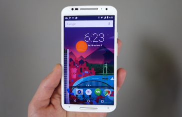 Primer video del Motorola Moto X con Android 5.0 Lollipop