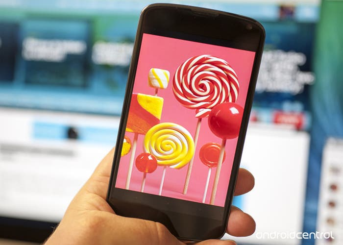 Nexus y Lollipop