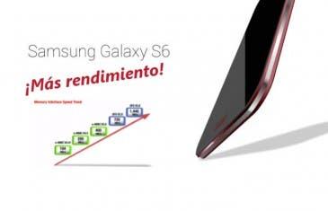 La memoria del Samsung Galaxy S6 será tres veces más rápida