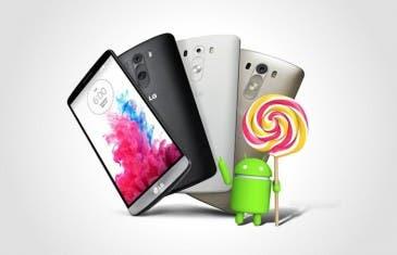El LG G3 recibe esta semana Android 5.0 Lollipop