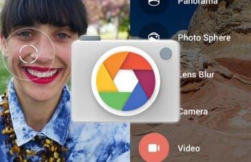 La cámara de Google se actualiza incluyendo Material Design