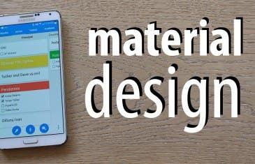 Las mejores aplicaciones con Material Design