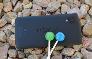 El Nexus 5 empieza a recibir Android 5.0 Lollipop