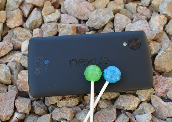 Nexus 5 Lollipop